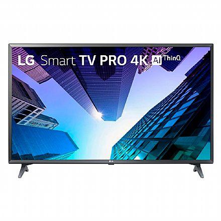 """TV 49"""" LG 49UM731C - Smart TV - Ultra HD 4K - Inteligência Artificial ThinQ AI - WebOS - Wi-Fi e Bluetooth Integrado - HDMI/USB"""