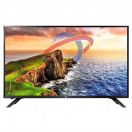 """TV 32"""" LG 32LV300C LED - HD - com Conversor Digital Integrado - HDMI / USB - Open Box"""