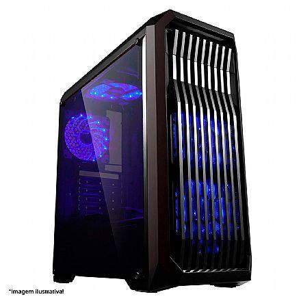 PC Gamer Bits GO Powered by ASUS - Intel® i3 9100F, 8GB, HD 1TB - RX 570 4GB
