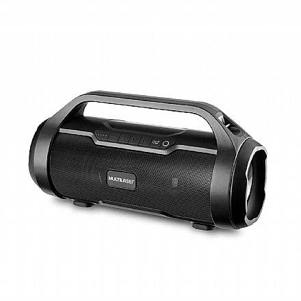 Caixa de Som Bluetooth Super Bazooka Multilaser SP339 - 180W - Conexões Bluetooth 5.0 , AUX, SD, USB, FM
