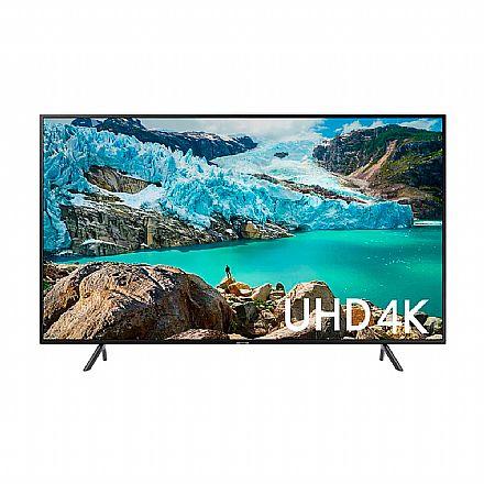 "TV 58"" Samsung UN58RU7100 - Smart TV - 4K Ultra HD - HDR Premium - Wi-Fi e Bluetooth Integrado - HDMI / USB"