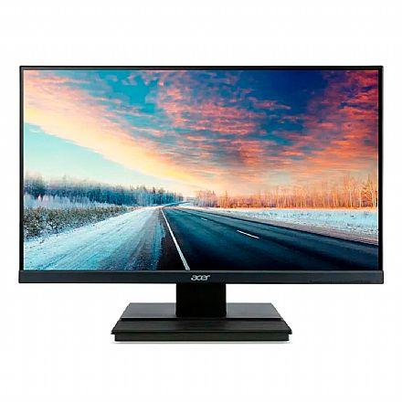 "Monitor 27"" Acer V276HL - Borda Zero Frame - Full HD - 6ms - Suporte VESA - HDMI/DVI/VGA"