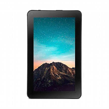 """Tablet Multilaser MS9 - Tela 9"""" , quad Core 1.5GHz, 16GB, WiFi, Bluetooth, Android 8.1 - Preto - NB326 - **Liquidação Peça de Vitrine**"""