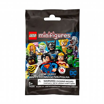 LEGO Mini Figure - DC Comics - Super Heroes Series - Mini Personagem Surpresa - 71026