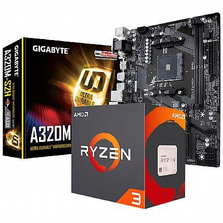 Kit Upgrade AMD Ryzen™ 3 3200G + Gigabyte GA-A320M-S2H