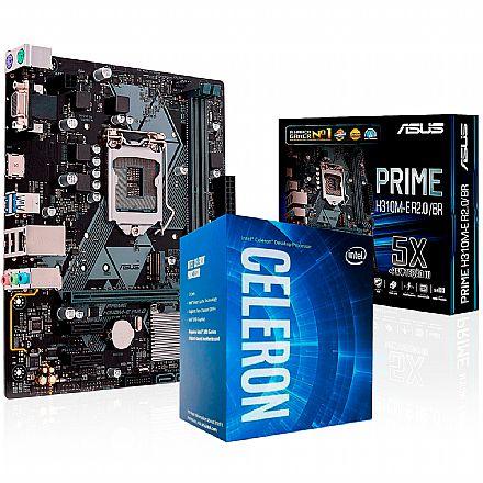 Kit Upgrade Intel® Celeron® G4930 + Asus Prime H310M-E/BR