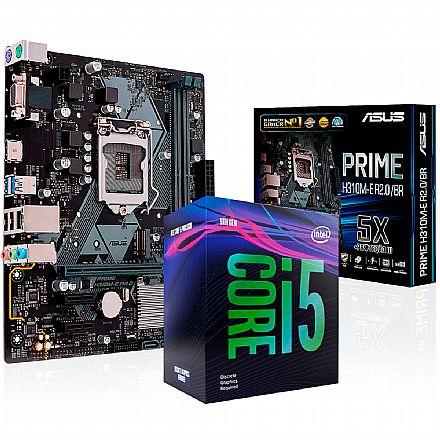 Kit Upgrade Intel® Core™ i5 9400F + Asus PRIME H310M-E R2.0/BR