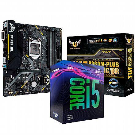 Kit Upgrade Intel® Core™ i5 9400F + TUF B360M-PLUS GAMING/BR