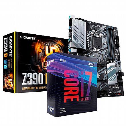 Kit Upgrade Intel® Core™ i7 9700KF + Gigabyte Z390 D