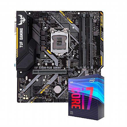 Kit Upgrade Intel® Core™ i7 9700KF + TUF B360M-PLUS GAMING/BR