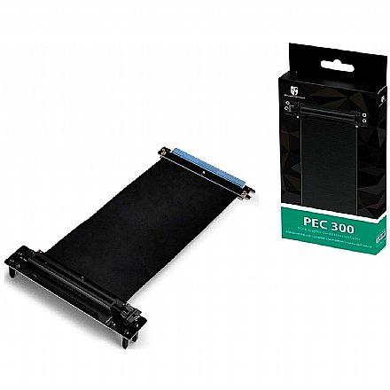 Extensor Gamestorm Deepcool PEC 300 - Riser PCI-E X16 - para Quadstellar/Genome II/New Ark 90 - DP-EC-PEC300
