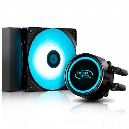 Water Cooler DeepCool Gammaxx L120T (AMD / Intel) - LED Azul - DP-H12RF-GL120TB