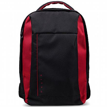 """Mochila Acer Nitro NP-BAG11-00V - Resistente a água - para Notebooks de até 15.6"""" - Preto e Vermelho"""