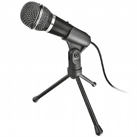 Microfone Streamer Trust Starzz All-round - Conector P2 - 21671