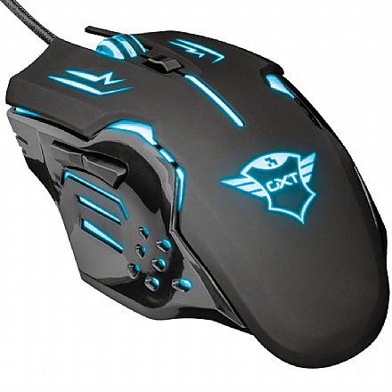 Mouse Gamer Trust GXT 108 Rava - LED RGB - 2000dpi - 6 Botões - 22090