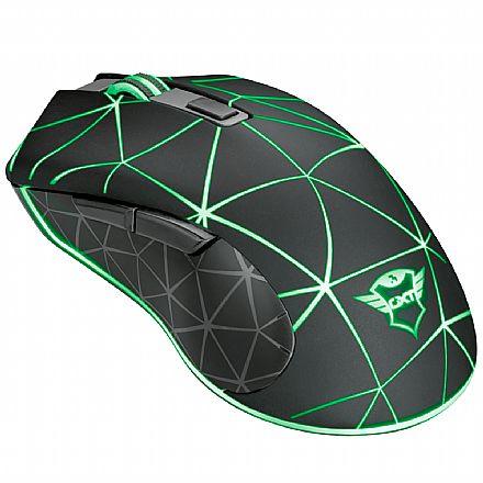 Mouse Gamer Trust GXT 133 Locx - LED RGB - 4000dpi - 6 Botões - 22988