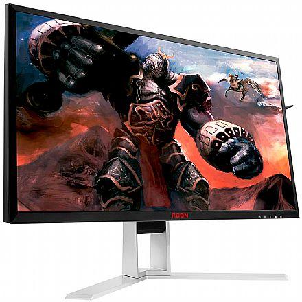 """Monitor 24.5"""" AOC Gamer Agon AG251FZ2 - Full HD - 240Hz - 0,5ms - Rotação e Ajuste de Altura - FreeSync - HDMI/DisplayPort/DVI"""