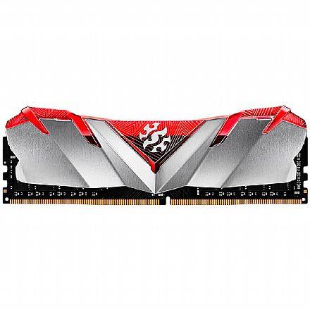 Memória 8GB DDR4 3200MHz Adata XPG Gammix D30 - 1.2V - CL16 - Vermelho - AX4U320038G16-SR30