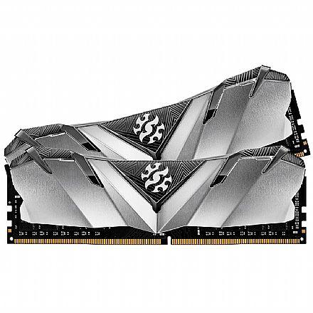 Memória 16GB DDR4 3200MHz Adata XPG Gammix D30 - 1.2V - CL16 - Prata - AX4U320038G16-DB30