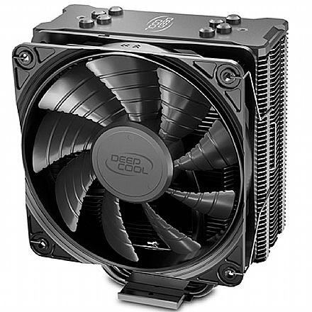 Cooler DeepCool Gammaxx GTE V2 (AMD / Intel) - Hydro Bearing - Tampa preta - DP-MCH4-GMX-GTE-V2BK
