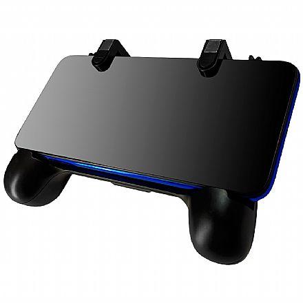 Controle Mobile Redragon Hermes - 3 em 1 - para Smartphone - com Powerbank 2000maH