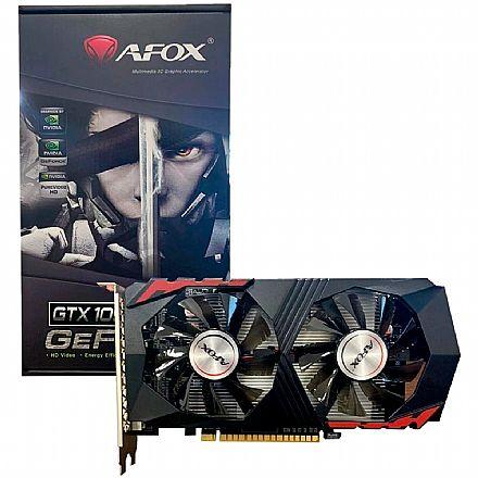 GeForce GTX 1050 Ti 4GB GDDR5 128bits - AFOX AF1050TI-4096D5H2