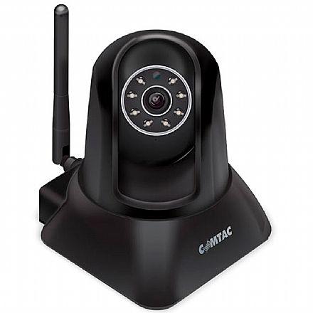 """Câmera de Segurança IP Comtac Kids 9267 - Wi-Fi - Lente 3.6mm - Sensor 1/4"""" - M-JPEG - Visão Noturna alcance 10m - B07GZYXP4P"""