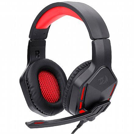 Headset Gamer Redragon Themis 2 H220N - Com Microfone - Conector P2 - Preto