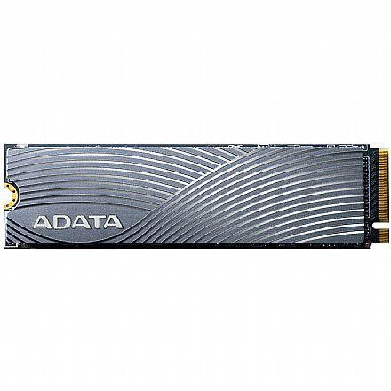 SSD M.2 1TB Adata Swordfish - NVMe - 3D NAND - Leitura 1800 MB/s - Gravação 1200MB/s - ASWORDFISH-1T-C