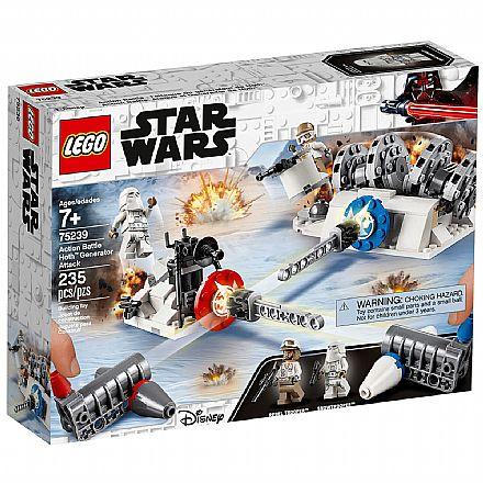 LEGO Star Wars - Batalha de Hoth: Ataque ao Gerador - 75239