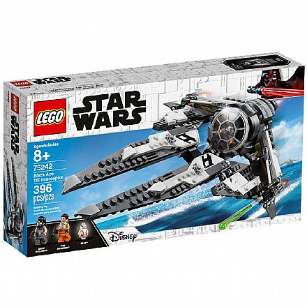 LEGO Star Wars - TIE Intercetor Black Ace - 75242