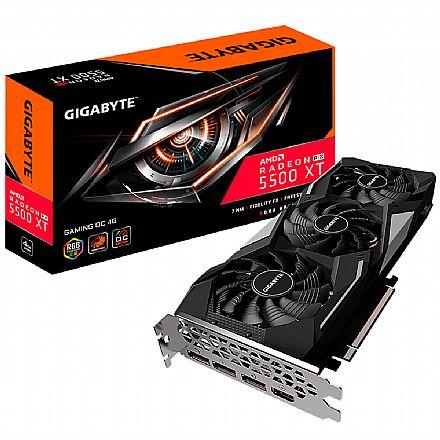 AMD Radeon RX 5500 XT Gaming OC 4GB GDDR6 128bits - Gigabyte GV-R55XTGAMING OC-4GD