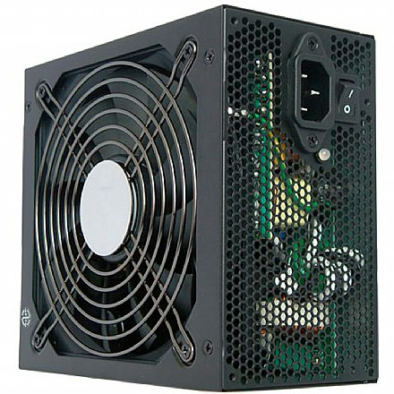 Fonte 850W Akasa Python Power - PFC Ativo - Eficiência 85% - AK-P085FG-BKBR