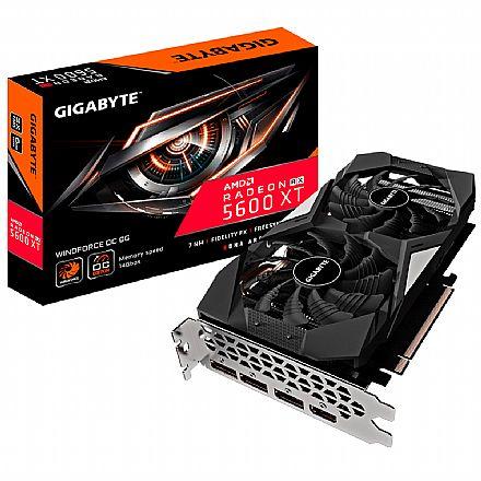 AMD Radeon RX 5600 XT 6GB GDDR6 192bits - Windforce OC 6G REV 2.0 - Gigabyte GV-R56XTWF2OC-6GD