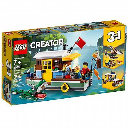 LEGO Creator - Casa Flutuante na Margem do Rio - 31093