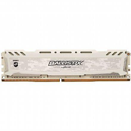 Memória 8GB DDR4 3200MHz Crucial Ballistix Sport - 1.35V - CL16 - BLS8G4D32AESCK