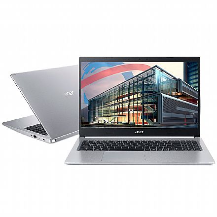 "Notebook Acer Aspire A515-54G-53GP - Tela 15.6"", Intel i5 10210U, 20GB, SSD 256GB, GeForce MX250, Windows 10"