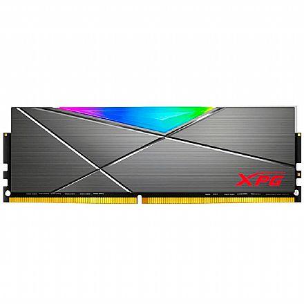 Memória 8GB DDR4 3000MHz Adata XPG Spectrix D50 - RGB - 1.35V - CL16 - AX4U300038G16A-ST50