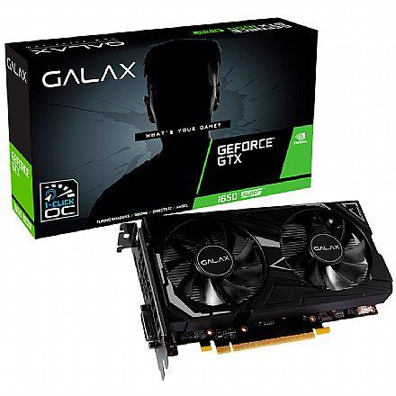 GeForce GTX 1650 Super 4GB GDDR6 128bits - EX - 1-Click OC - Galax 65SQL8DS61EX
