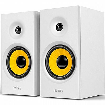 Caixa de Som Bluetooth Edifier R1080BT - 24W RMS - Bivolt - Branca