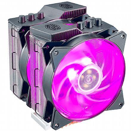 Cooler Master MasterAir MA620P - (AMD / Intel) - com LED RGB - MAP-D6PN-218PC-R1