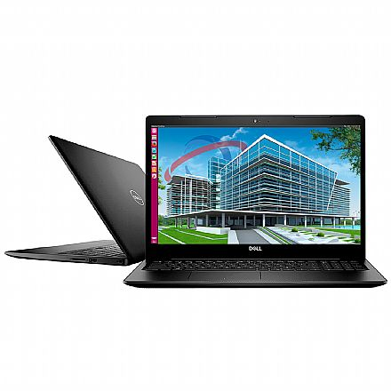 "Notebook Dell Inspiron i15-3583-D3XP - Tela 15.6"", Intel i5 8265U, 32GB, SSD 240GB, Windows 10 Pro - Preto"