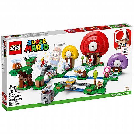 LEGO Super Mario™ - Caça ao Tesouro Toad - Pacote de Expansão - 71368