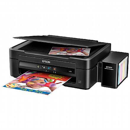Multifuncional Epson EcoTank L220 com Tanque de Tinta - Impressora, Copiadora e Scanner - BRCE56302