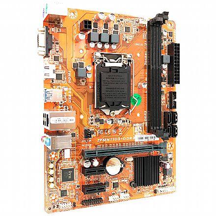 Placa Mãe PCWare IPMH110G (H110 - DDR3) - Chipset Intel H110 Express