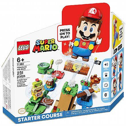 LEGO Super Mario™ - Aventuras com Mario - Pack Início - 71360