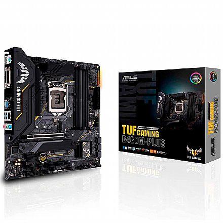 Asus TUF GAMING B460M-PLUS (LGA 1200 - DDR 2933) - Chipset Intel B460 - USB 3.2 - Slot M.2 - Micro ATX