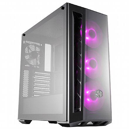 Gabinete Cooler Master Masterbox MB520 - com Controlador e 3 coolers RGB - Lateral em Vidro - MCB-B520-KGNN-RGB