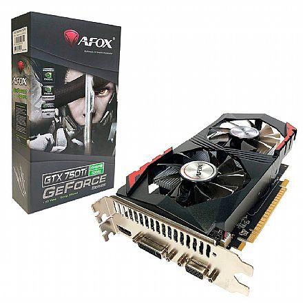 GeForce GTX 750Ti 2GB GDDR5 128bits - Afox - AF750TI-2048D5H5-V6