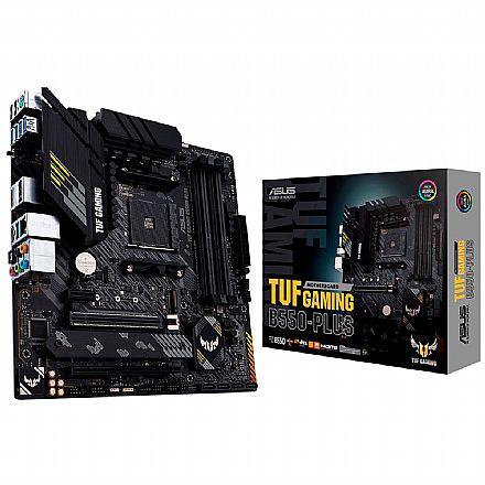 Asus TUF GAMING B550M-PLUS (AM4 - DDR4 4600 O.C) - Chipset AMD B550 - USB 3.2 - Slot M.2 - Micro ATX